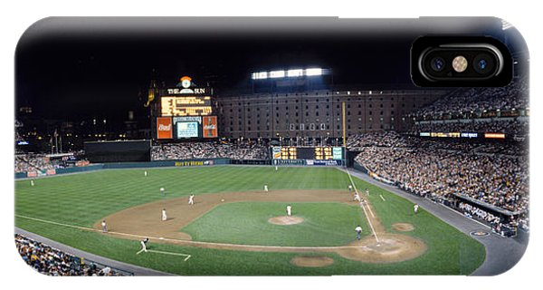 Baseball Game Camden Yards Baltimore Md IPhone Case