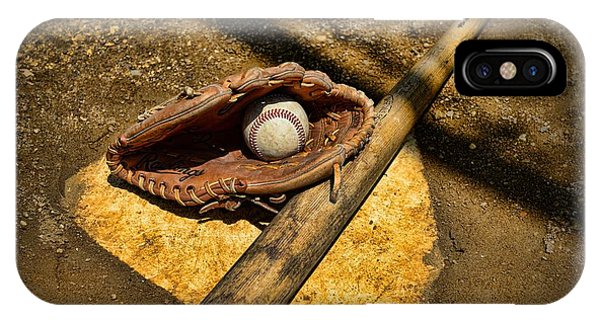 Baseball Home Plate IPhone Case