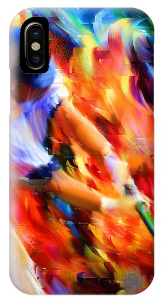 Baseball Bats iPhone Case - Baseball IIi by Lourry Legarde