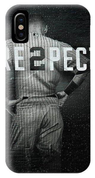 Day iPhone Case - Baseball With Jeter by Jewels Hamrick