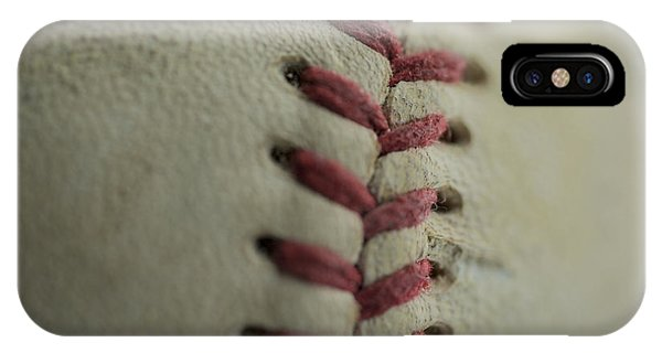Baseball Macro IPhone Case