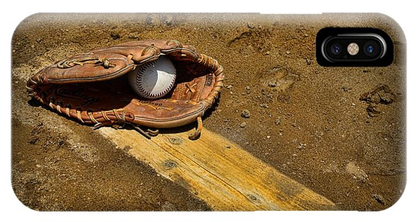 Baseball Pitchers Mound IPhone Case