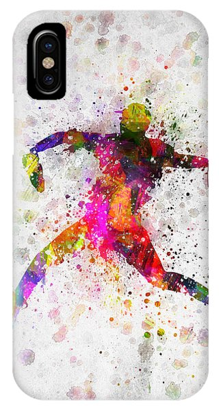Baseball Player - Pitcher IPhone Case