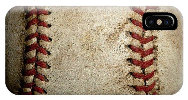 Baseball Seams IPhone Case