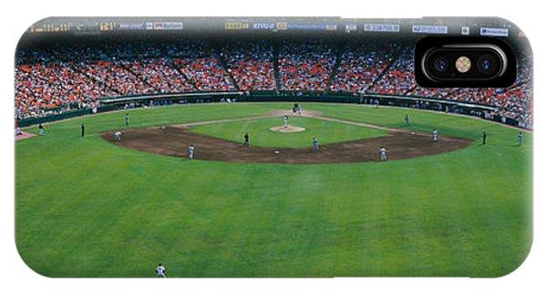 Baseball Stadium, San Francisco IPhone Case