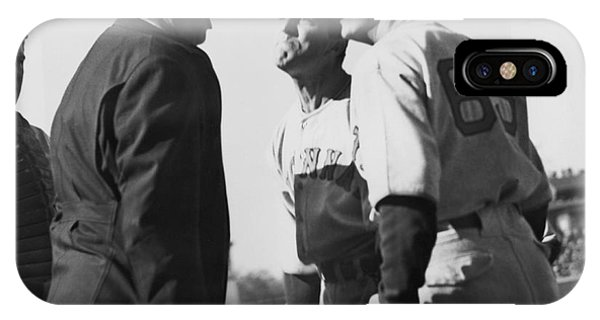 Baseball Umpire Dispute IPhone Case