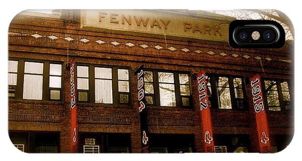 Baseballs Classic  V Bostons Fenway Park IPhone Case
