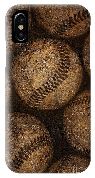 Baseballs IPhone Case