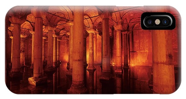 Basilica Cistern IPhone Case