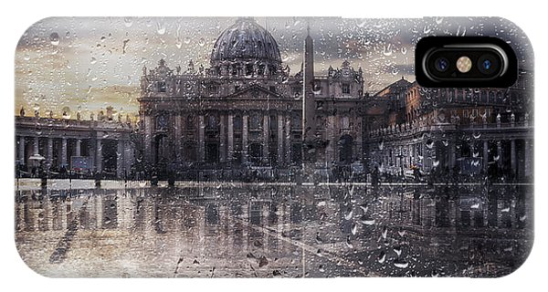 Christianity iPhone Case - Basilica Di San Pietro by Nicodemo Quaglia