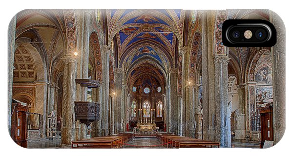 Basilica Di Santa Maria Sopra Minerva IPhone Case