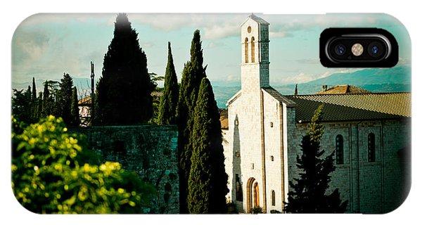 Basilica In Assisi  IPhone Case