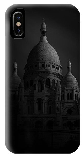 Dome iPhone Case - Basilique Du Sacre Coeur by Sebastien Del Grosso