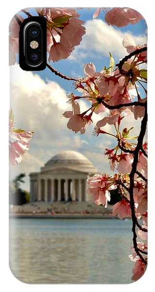 Basin Blossoms IPhone Case