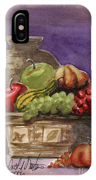 Basket Of Fruit IPhone Case