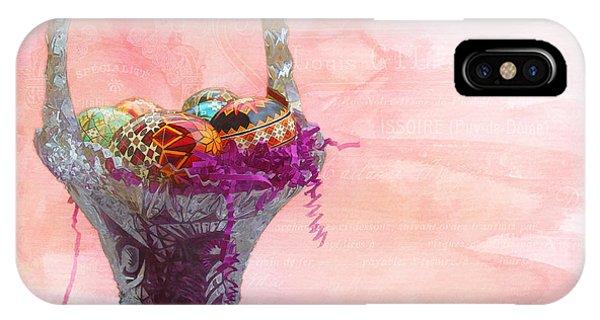 Basket Of Joy IPhone Case