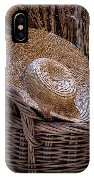 Basket Of Straw IPhone Case