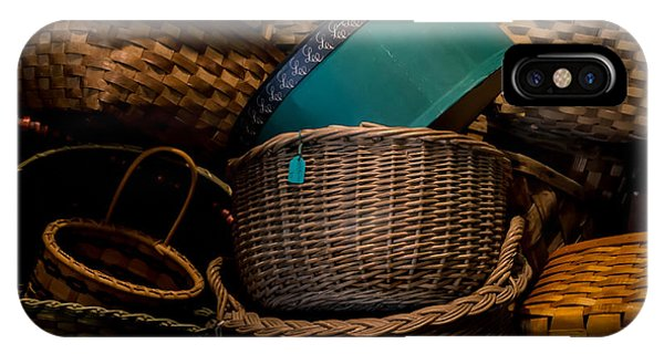 Baskets Galore IPhone Case