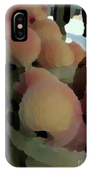 Baskets Of Peaches IPhone Case