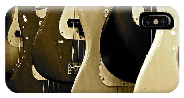 Bass Guitars  IPhone Case