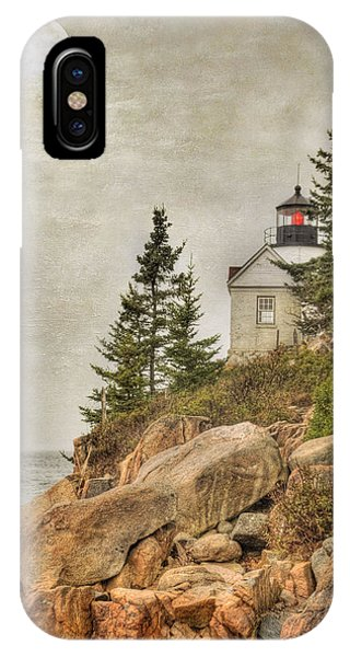 Bass Harbor Head Lighthouse. Acadia National Park IPhone Case