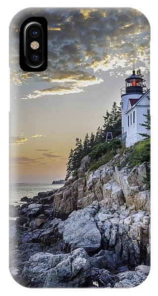 Bass Harbor Light House IPhone Case