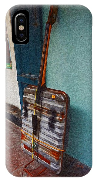 Bass Improvisation In New Orleans IPhone Case