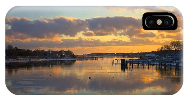 Bass River Reflection IPhone Case