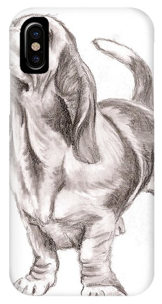 Basset Hound Dog IPhone Case