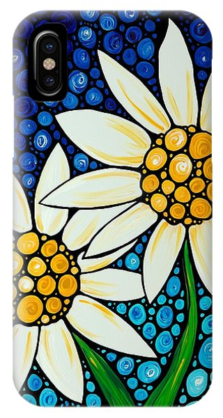 Bathing Beauties - Daisy Art By Sharon Cummings IPhone Case
