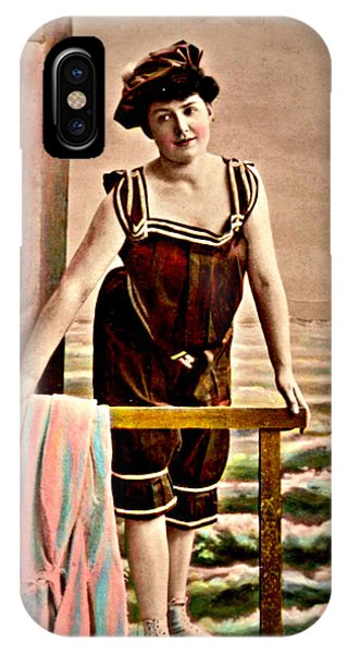 Bathing Beauty IPhone Case