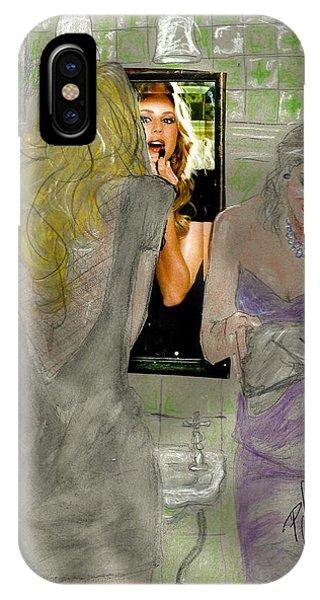 Bathroom Visit IPhone Case