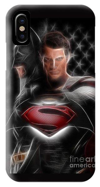 Batman Vs Superman  IPhone Case