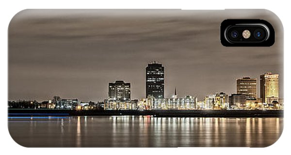 Baton Rouge Skyline IPhone Case