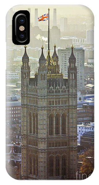 Battersea Power Station And Victoria Tower London IPhone Case