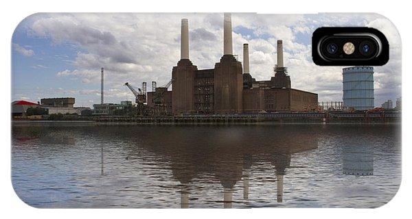 Battersea Power Station London IPhone Case
