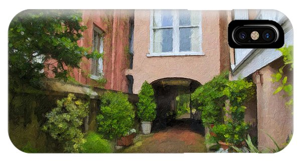 Battery Carriage House Inn Alley IPhone Case
