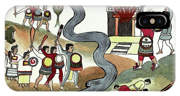 Culture Club iPhone Case - Battle Of Coyoacan by Library Of Congress