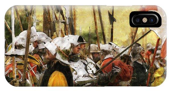 Battle Of Tewkesbury IPhone Case