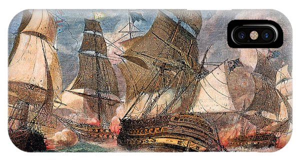 Battle Of Virginia Capes IPhone Case