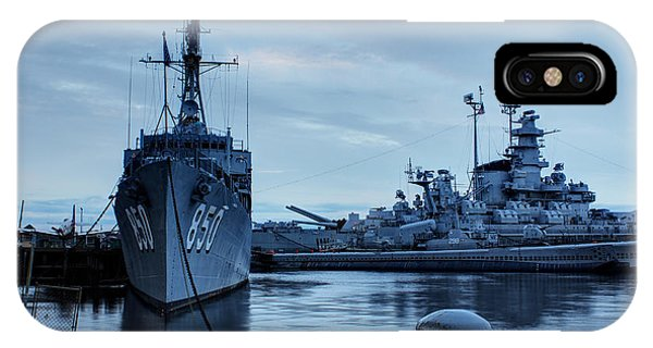 Battleship Cove IPhone Case