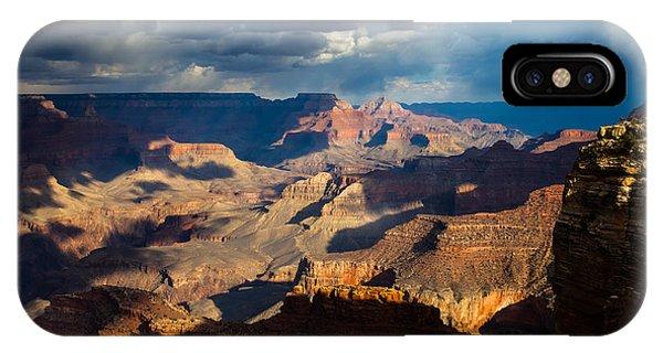 Battleship Rock In The Shadows IPhone Case