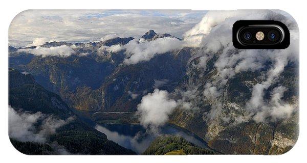 Bavarian Alps At Lake Konigssee IPhone Case