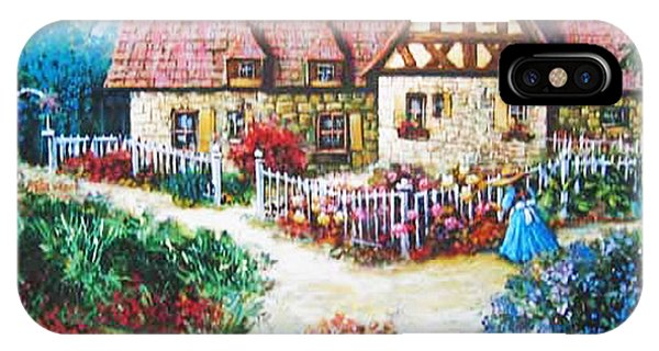 Bavarian Cottage IPhone Case