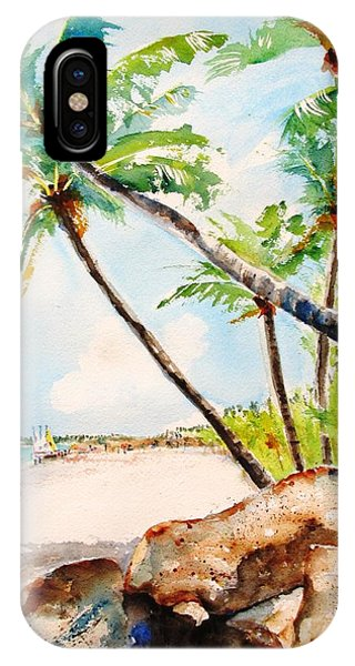 Bavaro Tropical Sandy Beach IPhone Case