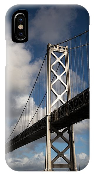 Bay Bridge After The Storm IPhone Case