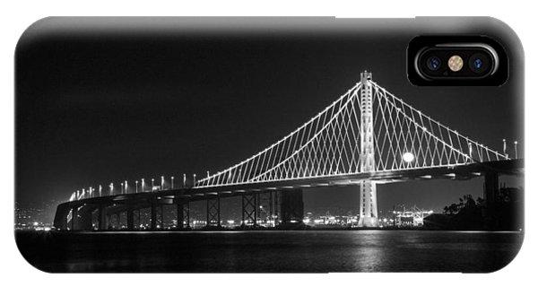 Bay Bridge Moon IPhone Case