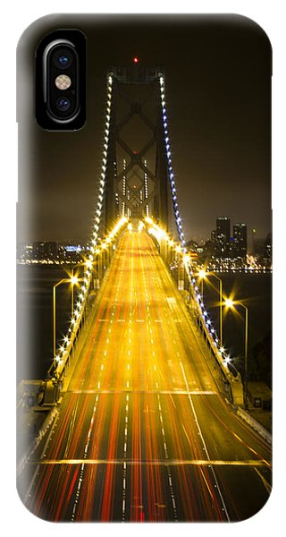 Bay Bridge Traffic IPhone Case