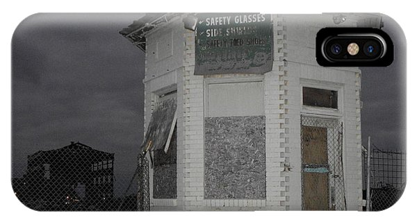 Bay City American Hoist Guard House IPhone Case