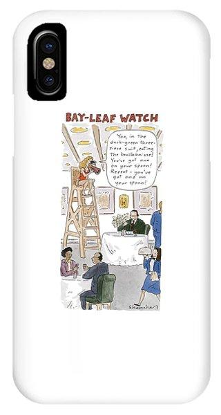 Bay-leaf Watch 'you IPhone Case